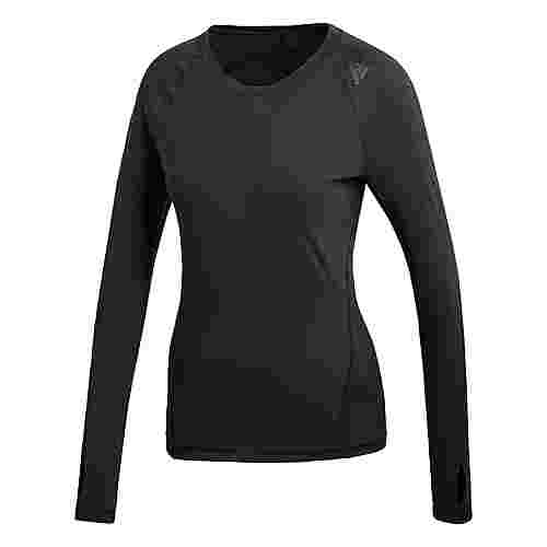 adidas Alphaskin Sport Funktionsshirt Damen schwarz