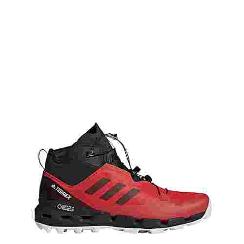 adidas TERREX Fast GTX-Surround Mountain Running Schuhe Herren Hi-Res Red/Core Black/Grey One