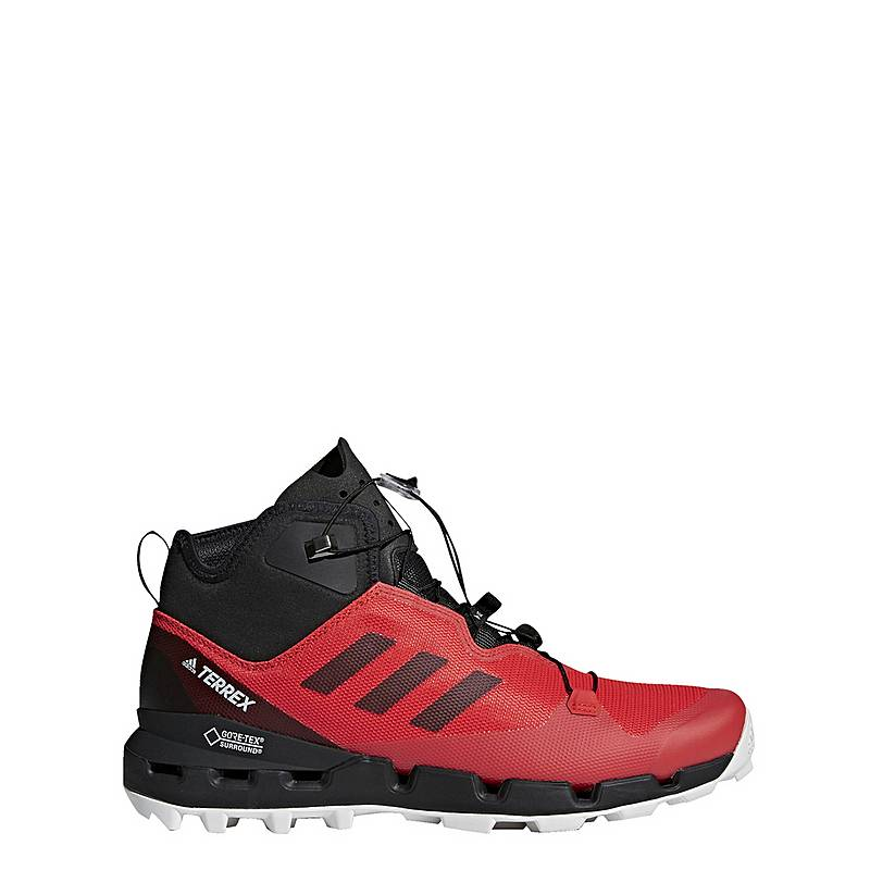 check out 044e9 94003 adidasTERREX Fast GTXSurround Mountain Running SchuheHerren HiRes Red Core  Black Grey One. Nike ...