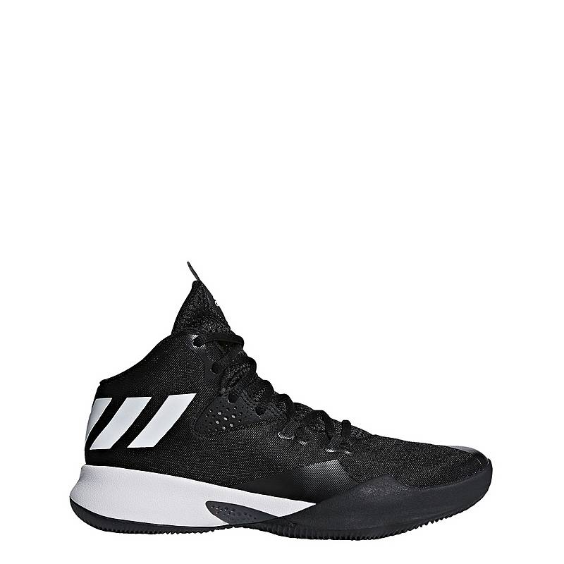online store 5f404 9e6bb adidasDual Threat BB 2017 BasketballschuheKinder Core Black Ftwr White Grey  Four