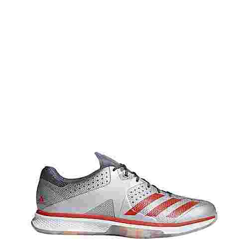 adidas Counterblast Hallenschuhe Herren Silver Metallic/Hi-Res Red/Raw Steel