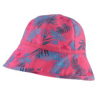 Jack Wolfskin Yuba Hat Hut Kinder hot-pink-all-over