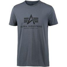 Alpha Industries Printshirt Herren greyblack-black