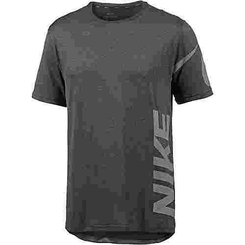 Nike Breathe Dry Funktionsshirt Herren black-anthracite-white