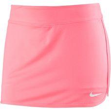 Nike Tennisrock Damen lava glow-white