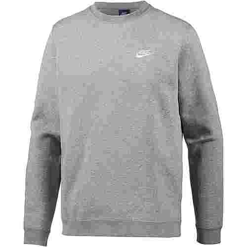 Nike NSW Club Sweatshirt Herren dk-grey-heather-white