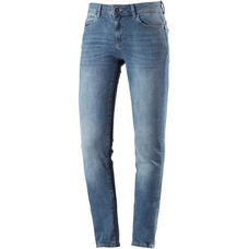 Only Skinny Fit Jeans Damen medium-blue-denim