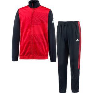 adidas Trainingsanzug Kinder vivid-red