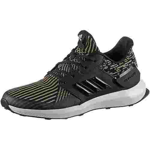 adidas Rapida Run Knit Youth Laufschuhe Kinder core-black