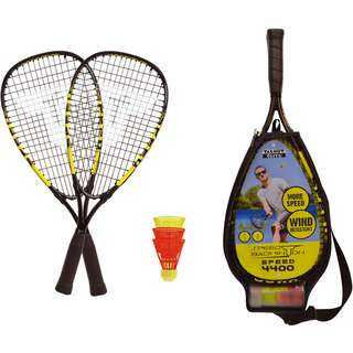 Talbot-Torro Speed Badmintonset 4400 Badmintonschläger schwarz-gelb