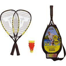 Talbot-Torro Badmintonschläger schwarz-gelb