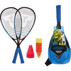 Talbot-Torro Speed Badmintonset 6600 Badmintonschläger schwarz-grün