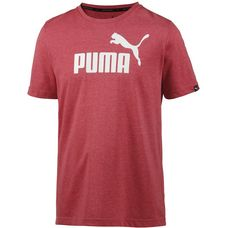 PUMA T-Shirt Herren red dahlia heather