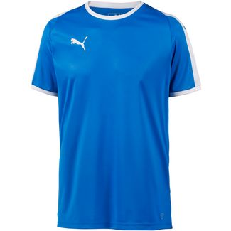 PUMA LIGA Funktionsshirt Herren electric blue lemonade-white