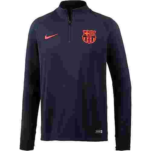 Nike FC Barcelona Funktionsshirt Herren obsidian-obsidian-hyper crimson-hyper crimson