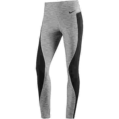 Nike Power Tights Damen black-heather-black