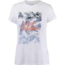Jack Wolfskin Royal Palm T-Shirt Damen white rush
