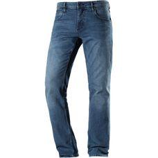 TOM TAILOR Straight Fit Jeans Herren used light stone blue denim