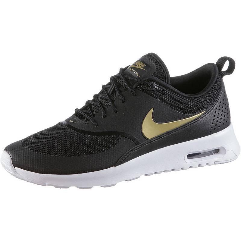 87e635e9eb ... shopping nike air max thea sneaker damen black gold 34007 dd0d7