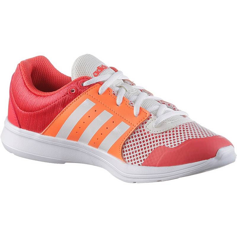 check out 564f5 7cd27 adidas Essential Fun II Fitnessschuhe Damen real coral. Vollbild