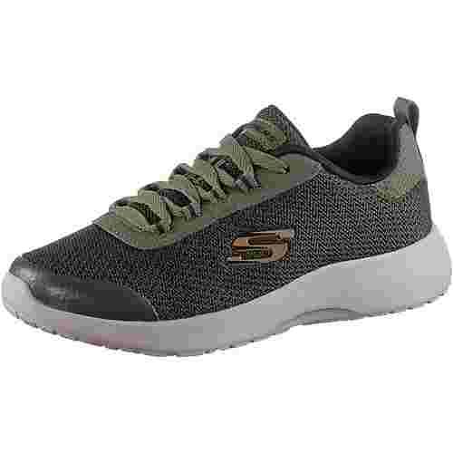 Skechers Sneaker Kinder oliv