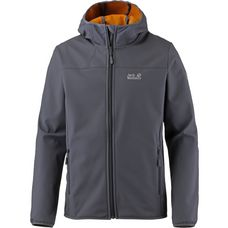 Jack Wolfskin Northern Point Softshelljacke Herren ebony 2