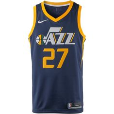 Nike RUDY GOBERT UTAH JAZZ Basketball Trikot Herren COLLEGE NAVY/SUNDIAL