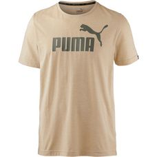 PUMA T-Shirt Herren pebble heather
