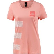 adidas Three Stripes T-Shirt Damen trace pink