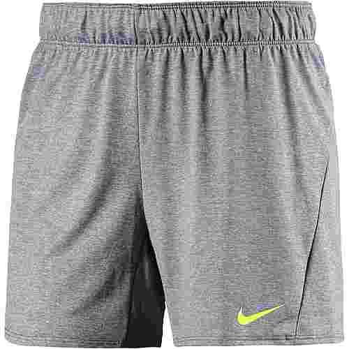 Nike Flex Funktionsshorts Damen cool grey-heather-volt