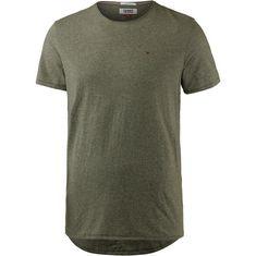 Tommy Jeans T-Shirt Herren deep lichen