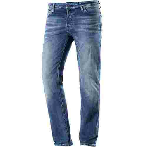 Jack & Jones CLARK Straight Fit Jeans Herren blue denim