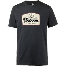 Volcom CRISTICLE T-Shirt Herren BLACK
