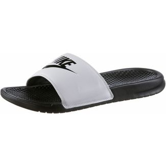 Nike Slides BENASSI Badelatschen Herren white-black