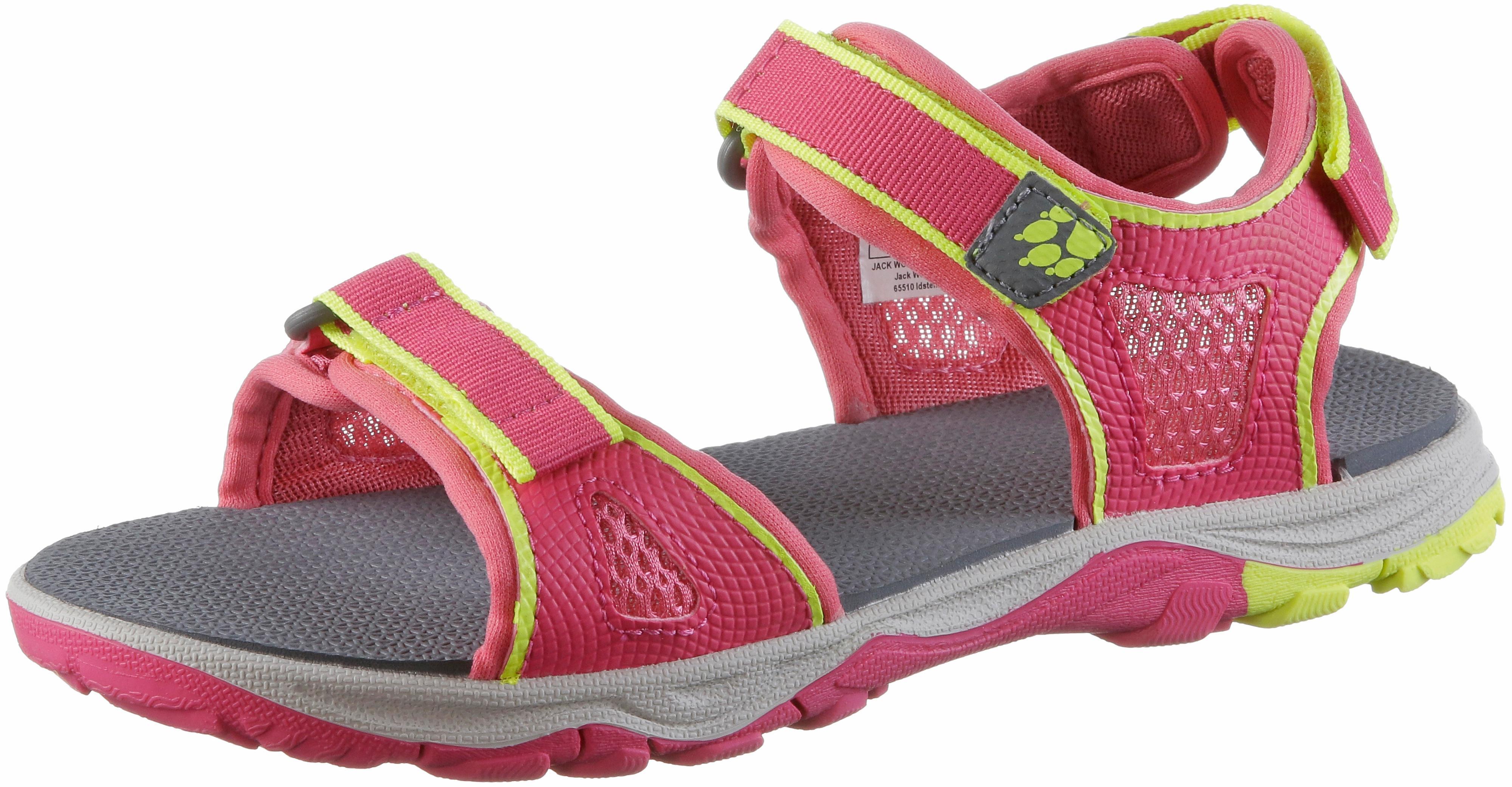 huge discount 71aa1 4b4be Jack Wolfskin Acora Beach Sandalen Mädchen tropic-pink im Online Shop von  SportScheck kaufen