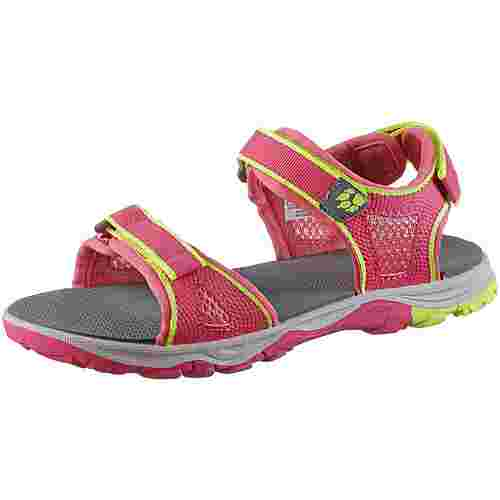 Jack Wolfskin Acora Beach Sandalen Kinder tropic-pink