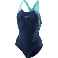 SPEEDO Schwimmanzug Damen navy-spearmint-vita grey