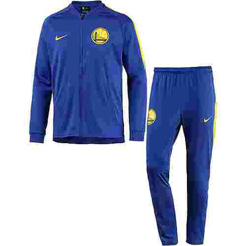 Nike GOLDEN STATE WARRIORS Trainingsanzug Herren RUSH BLUE/ANTHRACITE/AMARILLO/AMARILLO