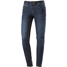 TOM TAILOR Skinny Fit Jeans Damen dark-stone-wash-denim
