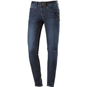 TOM TAILOR Skinny Fit Jeans Damen dark-stone-wash-denim