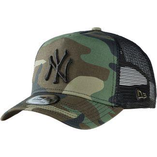New Era A-FRAME TRUCKER NEW YORK YANKEES Cap woodland camo-black