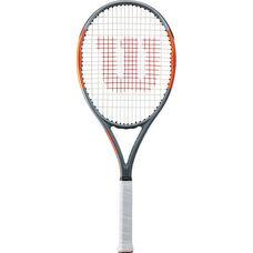Wilson Burn 100 Team Light Tennisschläger grey-orange