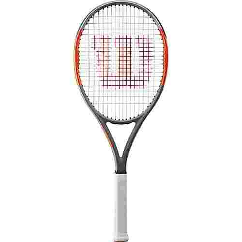 Wilson Burn 100 Team Tennisschläger grey-orange