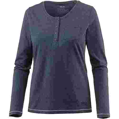 Jack Wolfskin Essential Funktionsshirt Damen midnight blue
