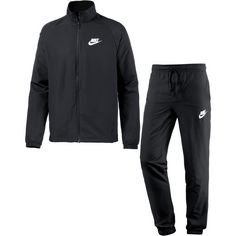Nike NSW Trainingsanzug Herren black-white