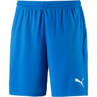 PUMA LIGA Fußballshorts Herren electric blue lemonade-white
