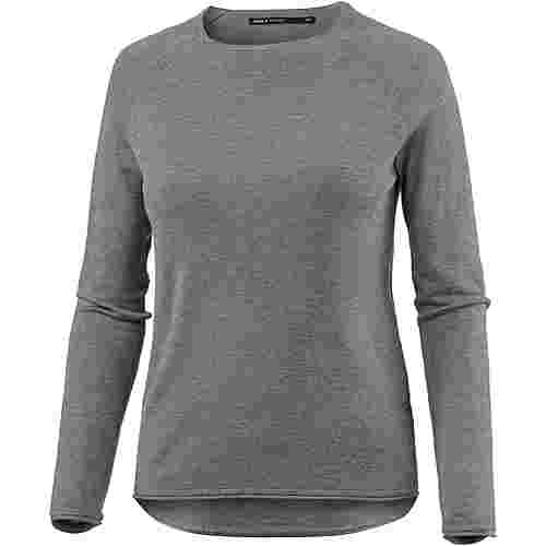 Only Strickpullover Damen medium-grey-melange