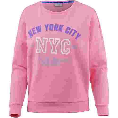 Only Oversize Shirt Damen begonia-pink