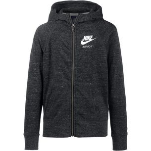 Nike NSW Sweatjacke Kinder black-sail