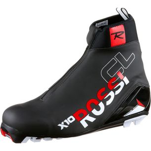 Rossignol X-10 Classic Langlaufschuhe schwarz-rot